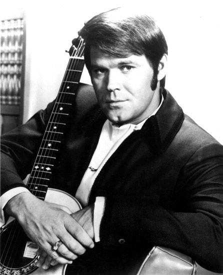 Glen Campbell - Born in Delight, AR By the Time I Get to Phoenix, Galveston, Rhinestone Cowboy, Southern Nights, etc.