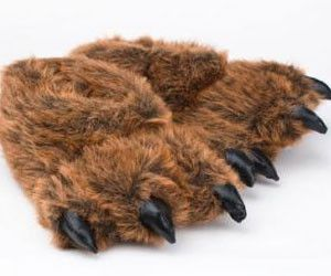 These bear feet slippers are perfect for chilling around the house, or generally not giving any care of your social appearance in public. Overall, these slippers will complete your bucket list.
