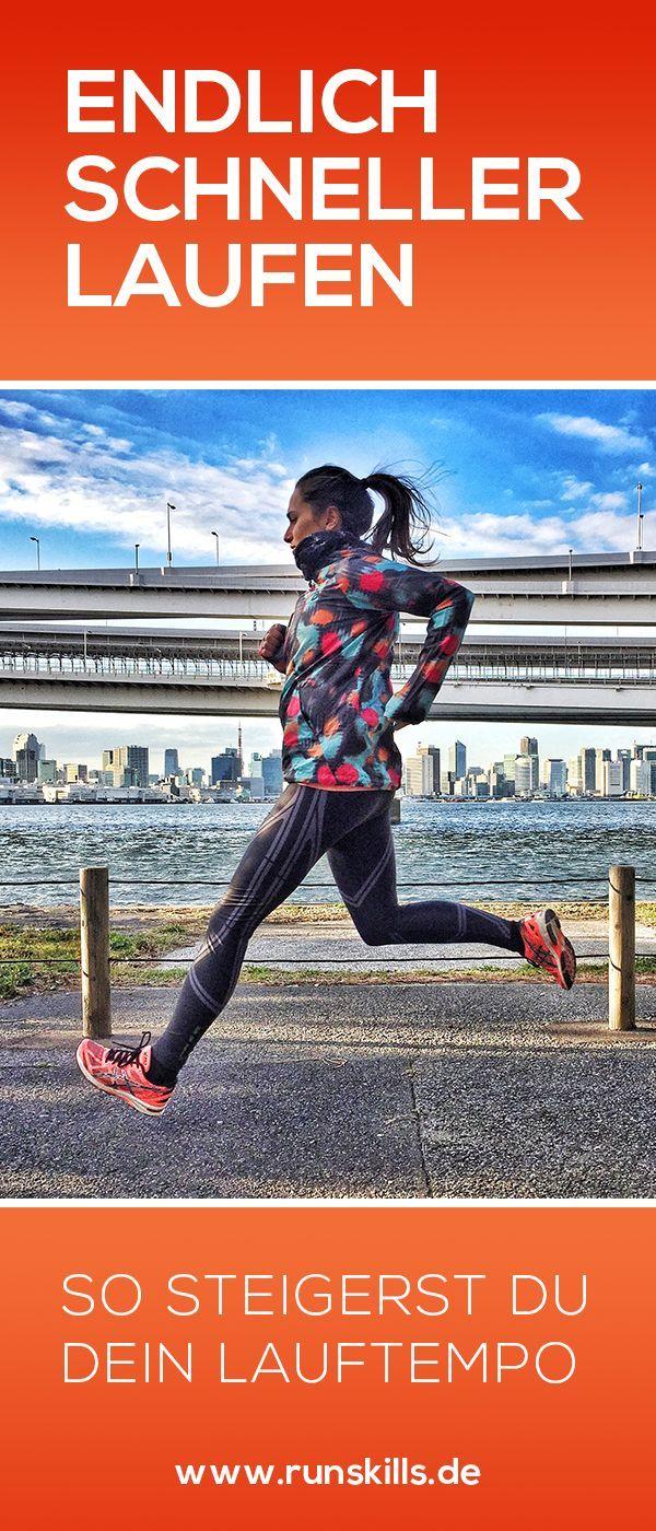 Schneller laufen – so steigerst du dein Lauftempo