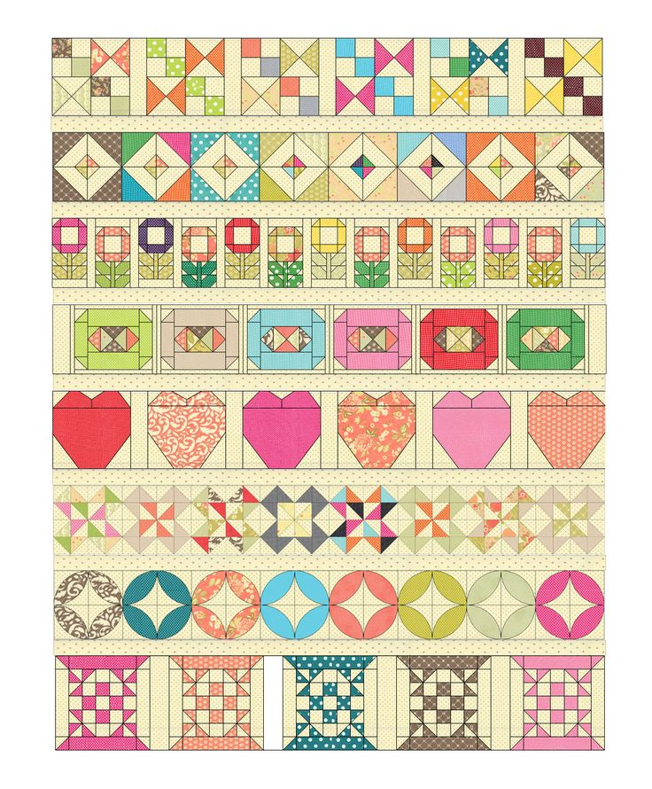 Trifle Dish Quilt - Moda Bake Shop Sweet pattern for a little girl