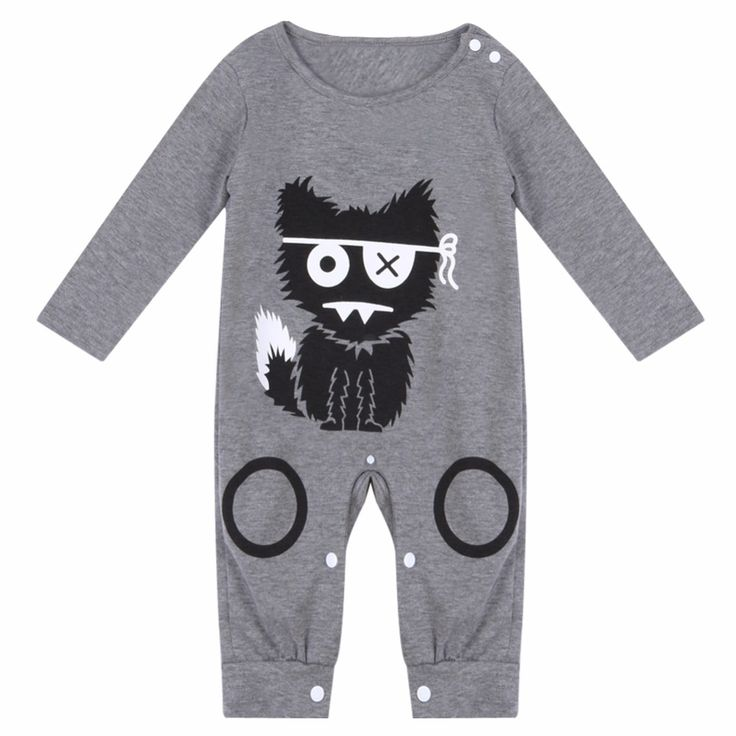 Cartoon Baby Boy Clothes Long Sleeve Baby Rompers Newborn Cotton Baby Girl Clothing Jumpsuit Infant Clothing //Price: €6.6 & FREE Shipping //   #fashion #baby #clothes #trendy #2017