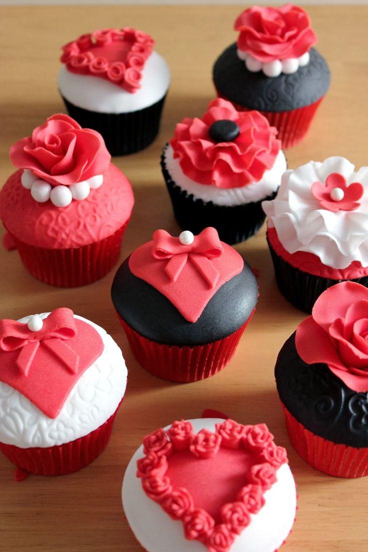 Cupcakes especial San Valentín