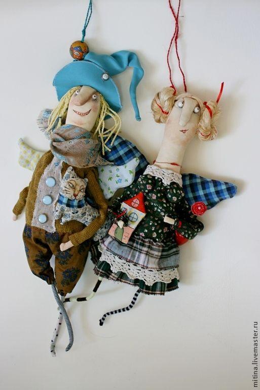 Купить Кукла на подвесе Хранитель дома - хранитель, авторская кукла, кукла на подвесе, подвеска, эльф