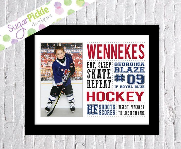 Personalized Hockey Gift Hockey Printable Wall Art Hockey Decor Hockey Mom Sports Wall Decor Custom Hockey Print Boys Room Decor Personalized Hockey Gifts Hockey Wall Art Hockey Decor