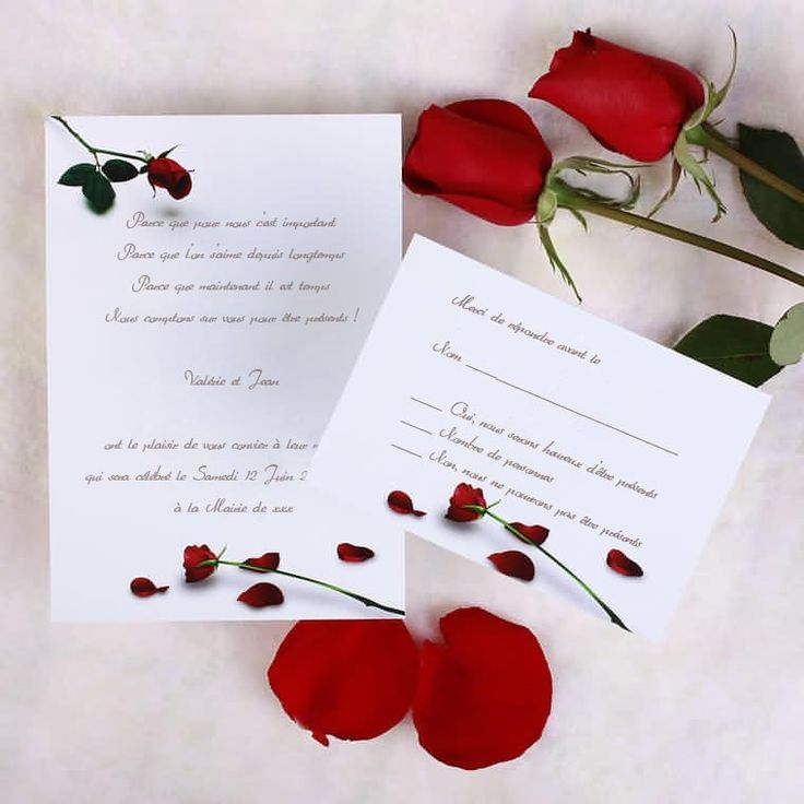 the red rose wedding invitations 000 red