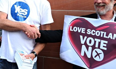 Scottish referendum: people are energised – and this new way of doing politics is not going to change | Armando Iannucci