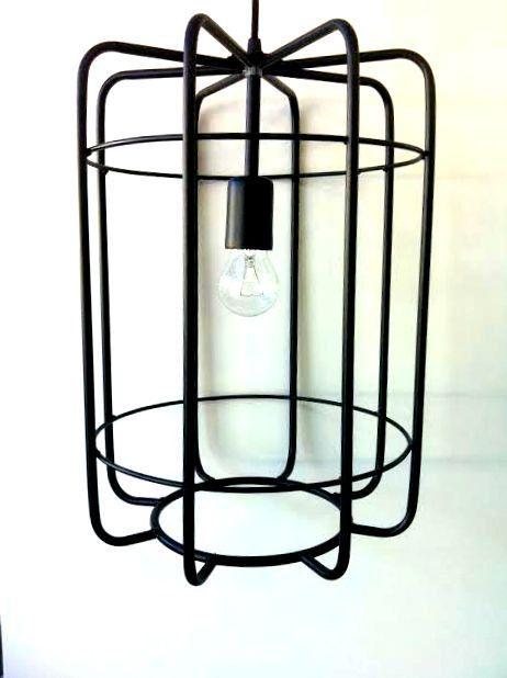 Bird Cage Handmade Pendant Light Chandelier Edison Restoration Industrial Fabric cables EGST