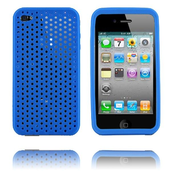 Mask (Blå) iPhone 4 Deksel