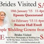 Bridal Gowns Ex Sample Sales - Epsom and Ewell Surrey
