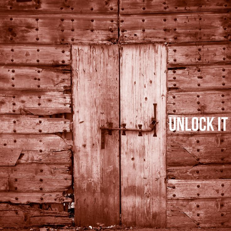 Unlock it. Open to new opportunities.