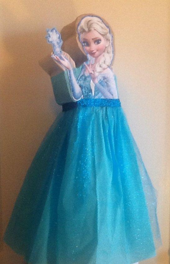 Frozen Pinata. Elsa Frozen piñata inspired. Frozen Birthday Party. Frozen decoration. Olaf frozen. Anna frozen. Frozen Birthday.