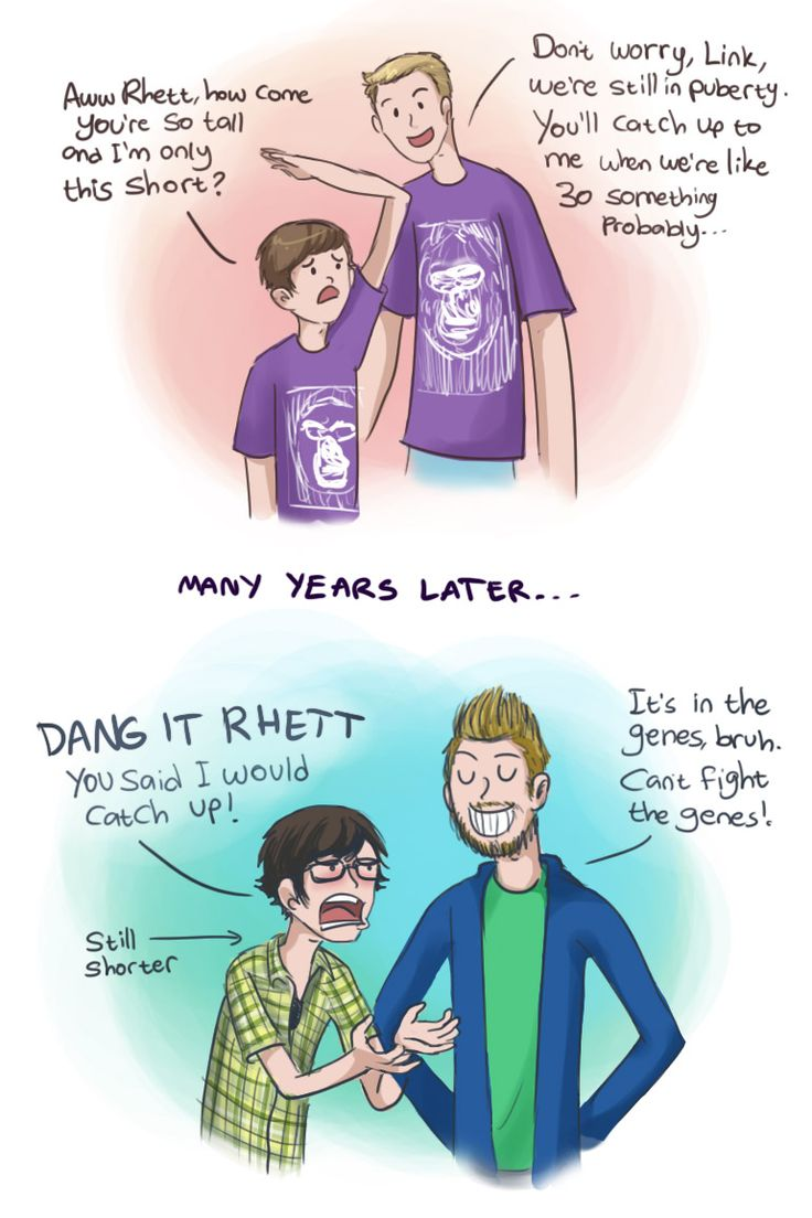 catching up to Rhetts height by Chocoreaper on deviantART