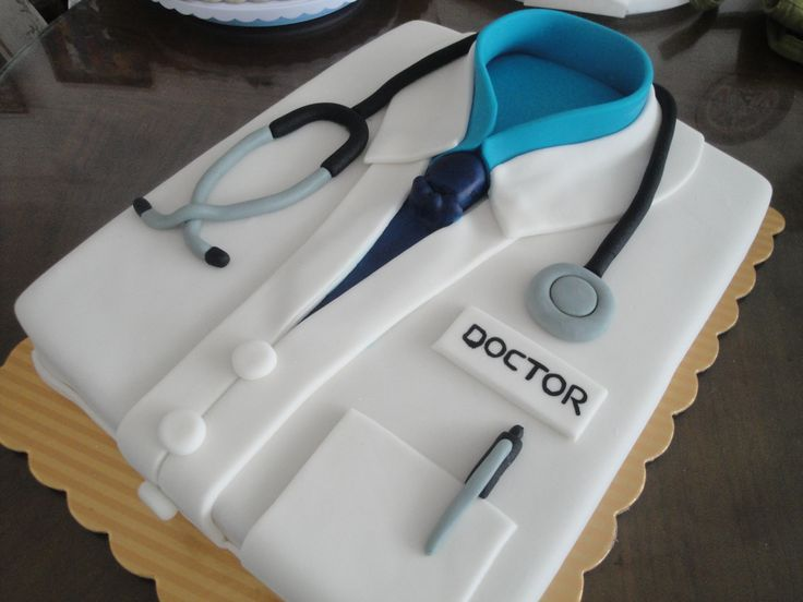 Torta Decorada especialmente para un Medico. Tortas ...