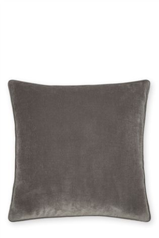 Buy Large Soft Velour Large Cushion from the Next UK online shop