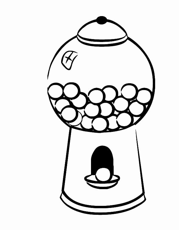 Gumball Machine Coloring Page Elegant Gumball Machine Coloring Page At Getcolorings Gumball Machine Coloring Pages Ninjago Coloring Pages