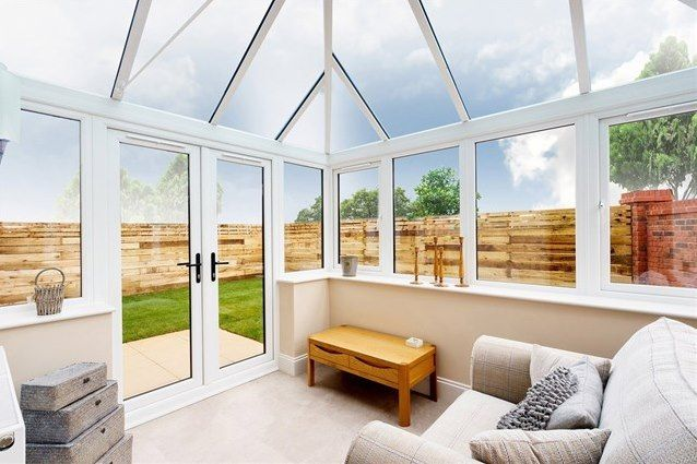 The sunroom at our bungalows for sale at The Dunes in Seascale.