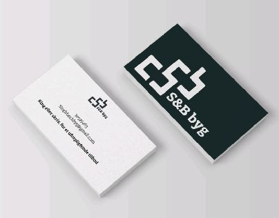 "Check out new work on my @Behance portfolio: ""S&B byg (mason and…"