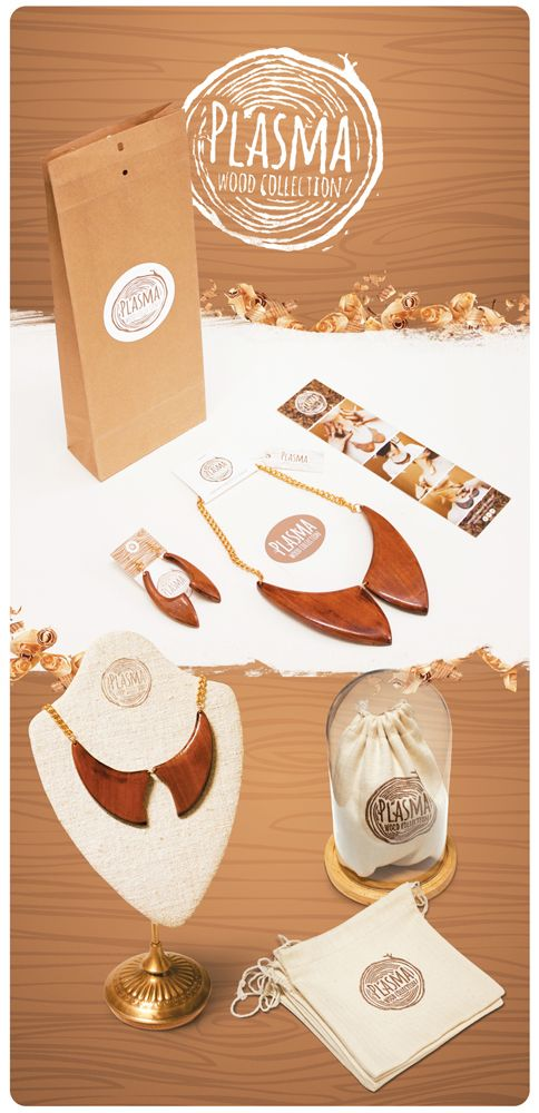 wood collection branding