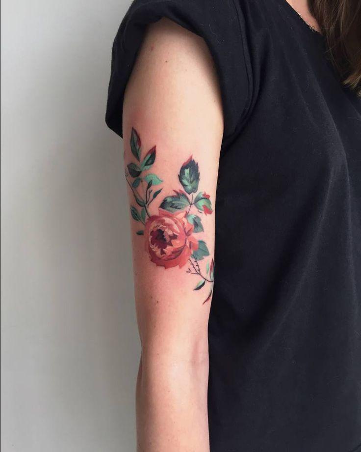 Upper Arm Tattoo Woman: 1000+ Ideas About Upper Arm Tattoos On Pinterest