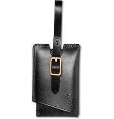 Tarnsjo Garveri - Perforated Leather Luggage Tag