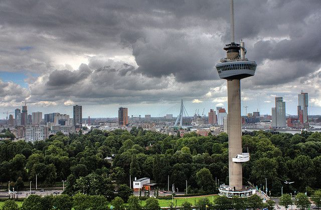 Rotterdam Skyline by Don't think just shoot, via Flickr