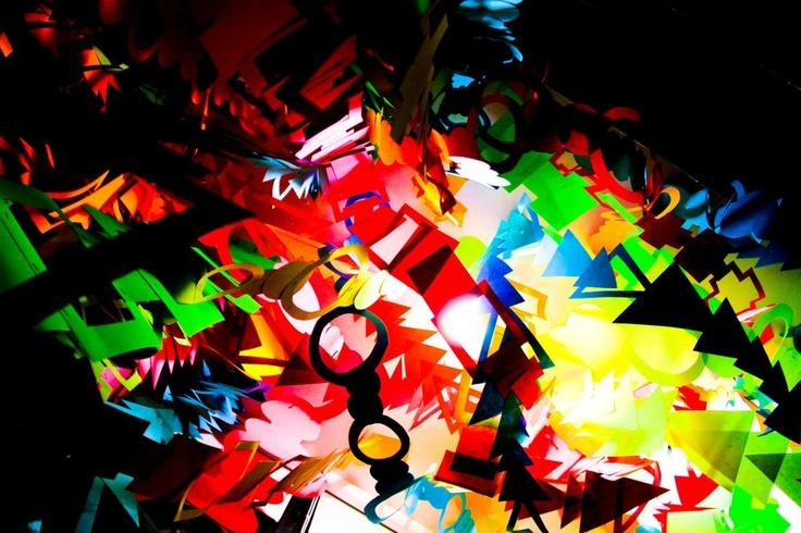 """Crossroads"" show in Chicago: Color Splash, Mind, Unique Photography, Paper Chains"