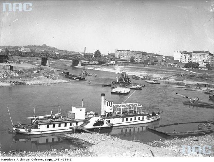 Zakole Wisły przy moście Dębnickim