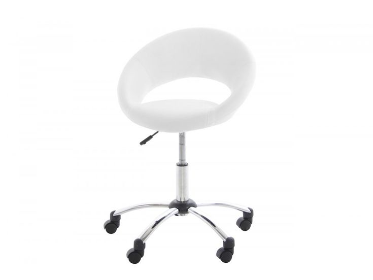 Krzesło Biurowe Plump białe — Krzesła Actona — sfmeble.pl