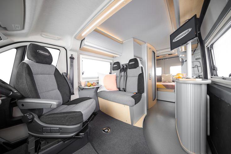 Trakka Fiat motorhome interior  #vanlife #interior