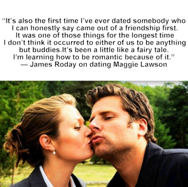 James Roday and Maggie Lawson. Gah!(: