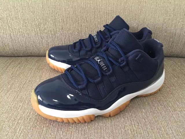 Additional Images Of Air Jordan 11 Low Navy/Gum