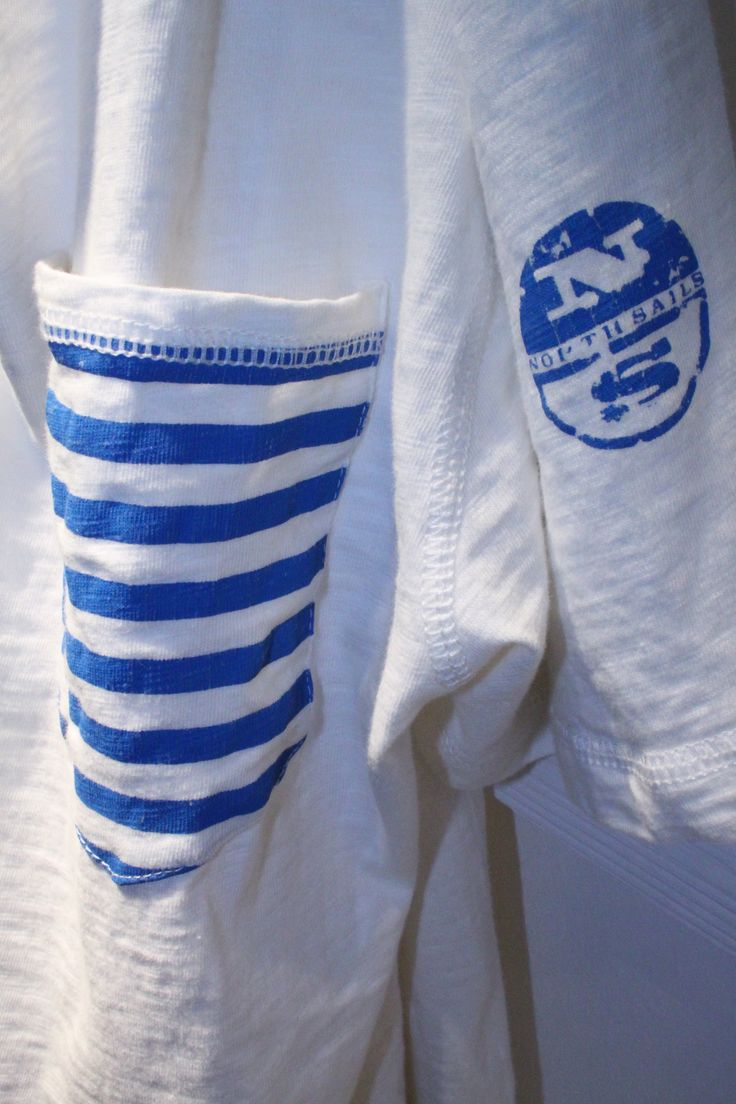 #Pitti #Immagine #Uomo #Firenze #summer2014 #collection #SS2015 #NorthSails #Stand #tshirt #pocket #stripes #logo #sailor