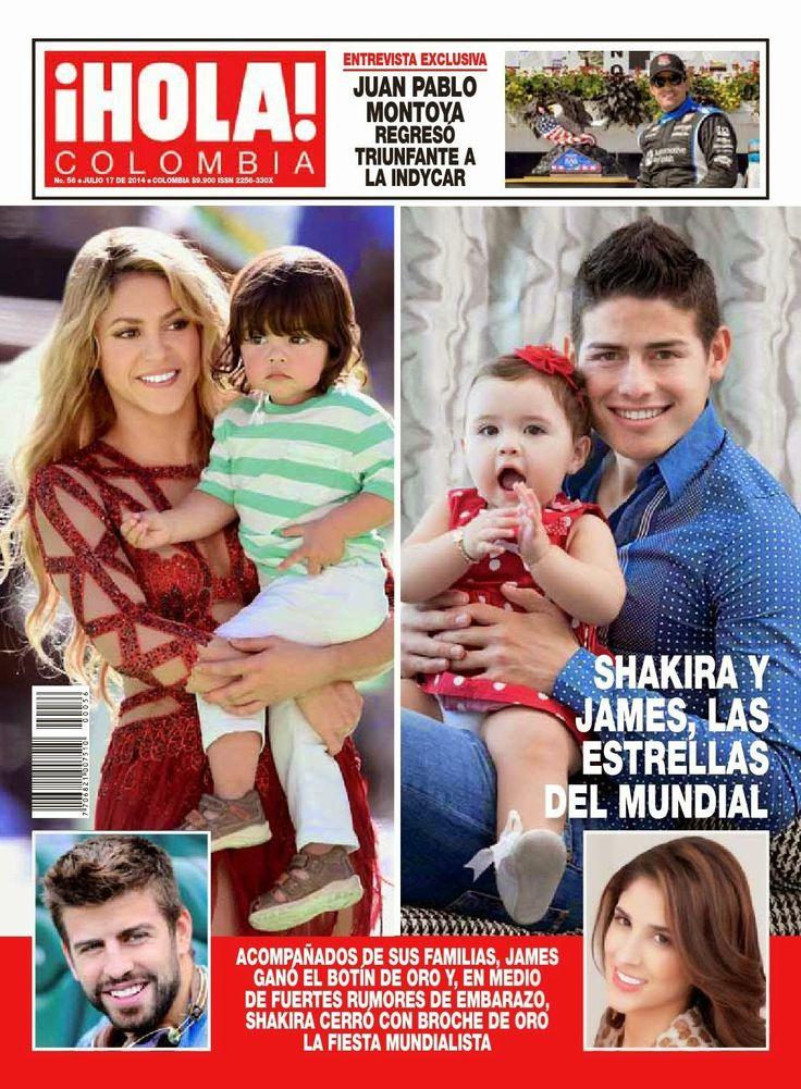 """LAS CADERAS TABASCO: Shakira en la revista """"¡HOLA!"""" (Colombia)"""