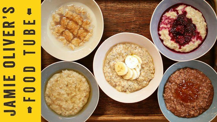Jamie's Perfect Winter Porridge - 5 ways (it's oatmeal really :))
