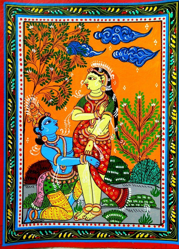 Image result for patachitra paintings