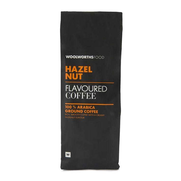 Hazelnut Flavoured Ground Coffee 250g