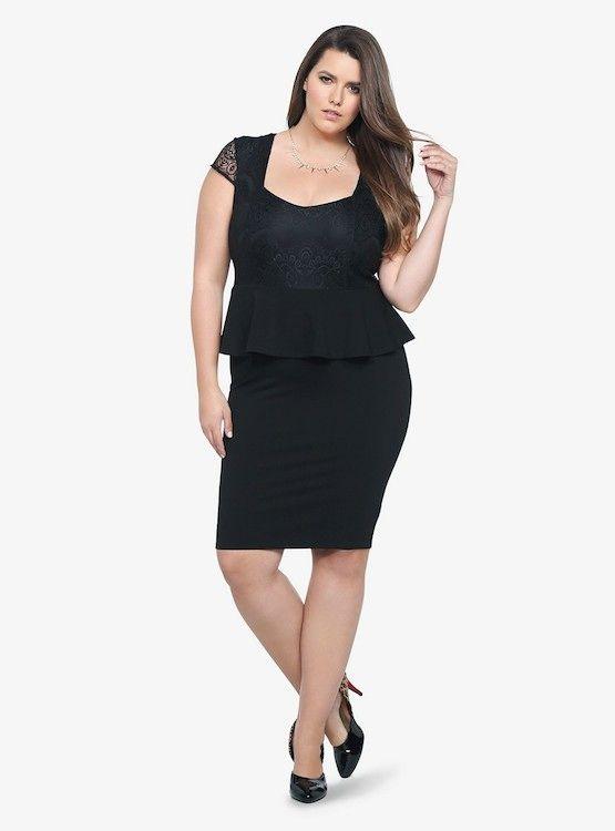 10 best images about Little Black Dress Plus Size on Pinterest ...