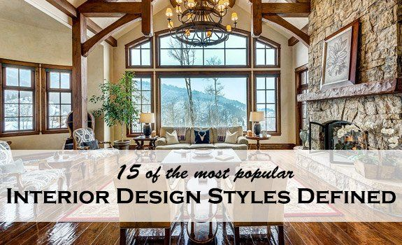 Modern, industrial, vintage, traditional, mid-century modern, contemporary, urban…See the most popular interior design styles and choose which of th…