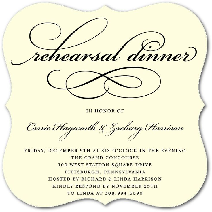 68 best Rehearsal Dinner Invitations images on Pinterest