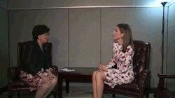 19 September 2016 | Meeting between Queen Letizia and Margaret Chan, the Director General of the World Health Organisation (WHO) at the United Nations headquarters in New York City