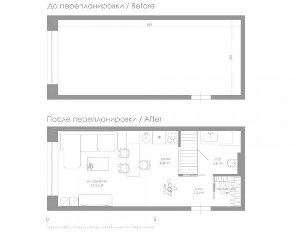 Small 29 Square Meter 312 Sq Ft Apartment Design Small
