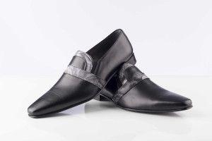 zapatos traje negro
