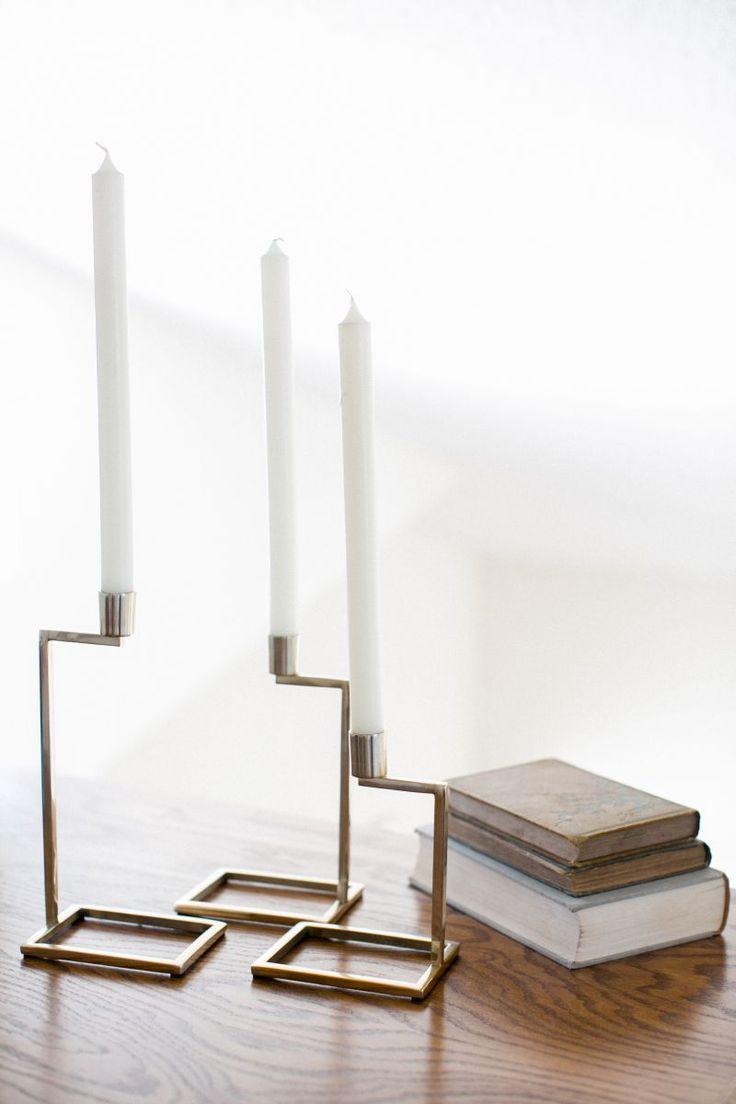 love the candle holder #theeverygirl