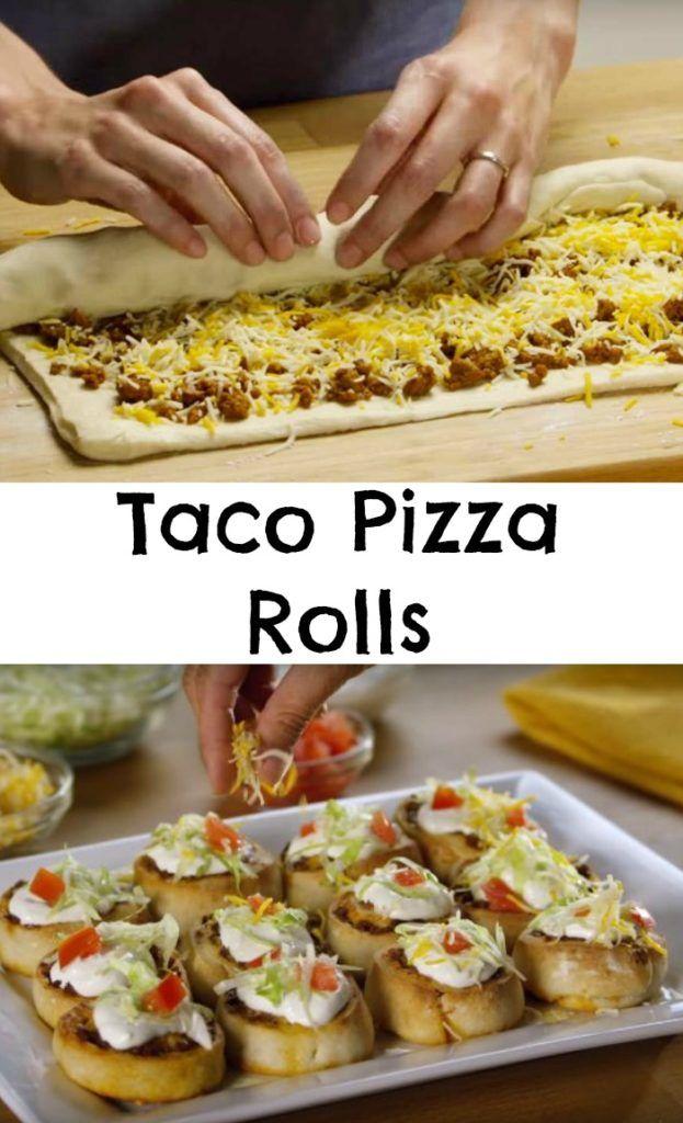 Taco Pizza Rolls                                                                                                                                                                                 More