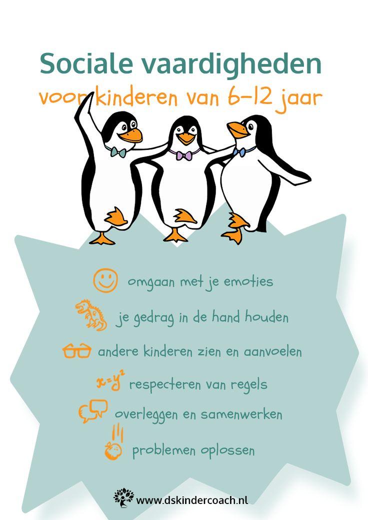 Sociale vaardigheden aanleren aan je kind | Daniëlle Schollaart | Kindercoaching & Training