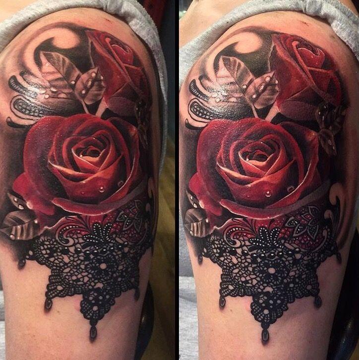 R sultats de recherche d 39 images pour lace and jewel half for Lace half sleeve tattoo