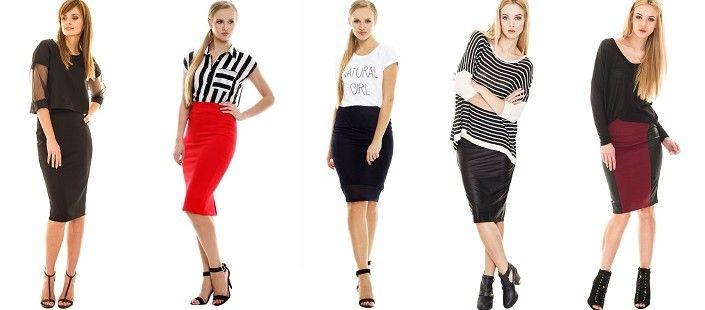 Jak nosić spódnicę ołówkową? | Modomaniahttp://modomania.o12.pl/jak-nosic-spodnice-olowkowa/