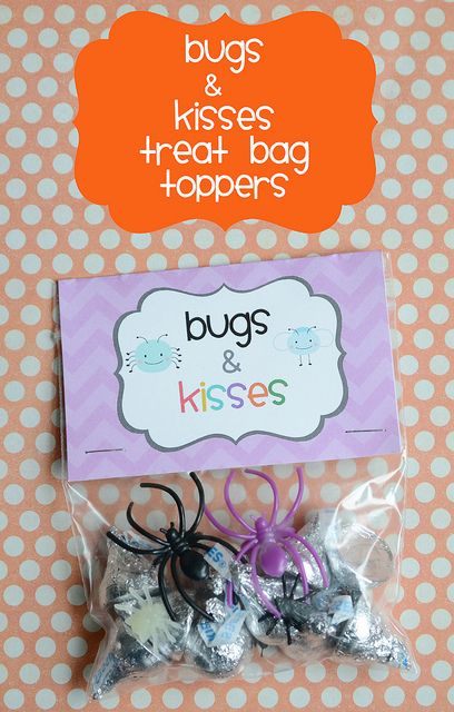 Bug and Kisses (free printable) from Meet the Dubiens (bugsandkisses3 by kirstenreese, via Flickr)