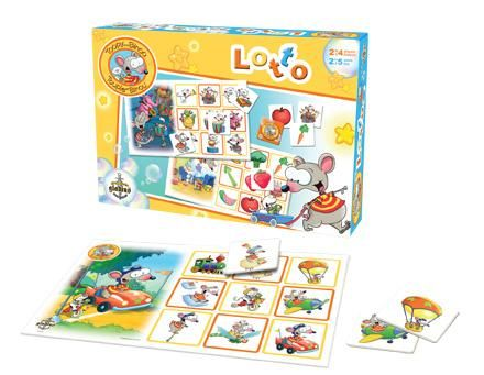 Toopy and Binoo - Lotto | Toopy and Binoo , 2-5 yrs , Memory, Association, Observation, Preschool, Concentration