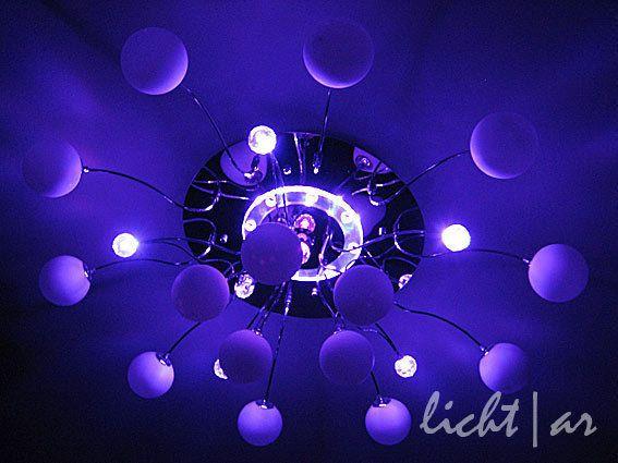 Deckenleuchte Illusion 5 10 15 Farbwechsel Fernbedienung Deckenlampe Leuchte